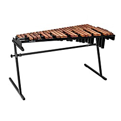 Majestic Gateway Series 3.5 Octave Padauk Bar Practice Xylophone w/ Resonators (X5535DR)