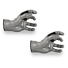 Grip Studios Male Guitar Grip Hanger Left Hand Model Silver - 2 Pack