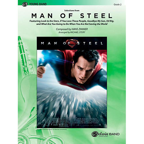 Alfred Man of Steel Selections from Concert Band Level 2 Set-thumbnail