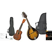 Rogue Mandolin And Ukulele Travel Pack