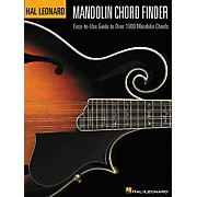 Hal Leonard Mandolin Chord Finder 12x9 Book