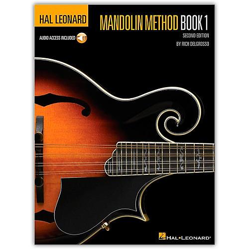 Hal Leonard Mandolin Method Book/CD
