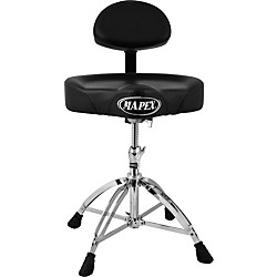 Mapex Mapex Four Legged Double Brace Throne With Adjustable Back Rest (T775)