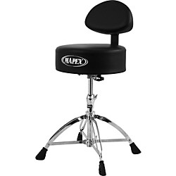 Mapex Mapex Four Legged Double Brace Throne With Adjustable Back Rest (T770)