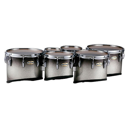 Pearl Maple Carbon Core Marching Tenors Shallow Cut Sextet Set (Drums & Spacers Only)-thumbnail