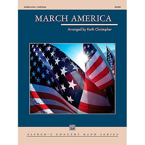 Alfred March America Concert Band Grade 3 (Medium)-thumbnail