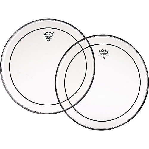 Remo Marching Pinstripe Propack Drumhead Set Clear 6, 8, 10, 12, 13