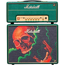 Marshall Custom Tattoo Antony Flemming Stack JVM-1H 1W Tube Guitar Head and 1x10 Cab (Anthony Stack)