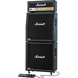 Marshall JVM410 Head with 1960A and 1960B Tube Guitar Full Stack Regular (KIT773026)