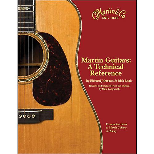 Hal Leonard Martin Guitars - A Technical Reference Book