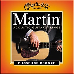 Martin M545 Light-Medium Phosphor Bronze Acoustic Guitar Strings (41M545)