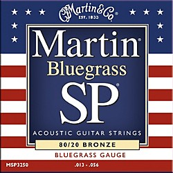 Martin MSP3250 SP Bronze Bluegrass Medium Acoustic Guitar Strings (41MSP3250)