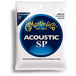 Martin MSP4250 SP Phosphor Bluegrass Medium Acoustic Guitar Strings (41MSP4250)