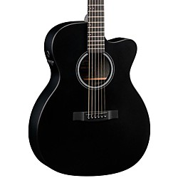 Martin OMCPA5 Cutaway Acoustic Electric Guitar (11OMCPA5BLACK)