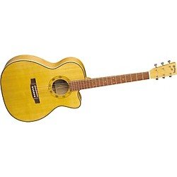 Martin Special Edition OMC Cherry Cutaway Acoustic-Electric Guitar with Case (OMCCHERRY)