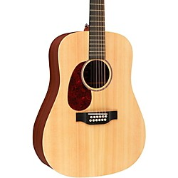 Martin X Series D12X1AE Left-Handed Acoustic-Electric Guitar (11D12X1AEL)