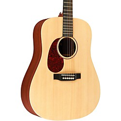 Martin X Series DX1AE Left-Handed Acoustic-Electric Guitar (11DX1AEL)