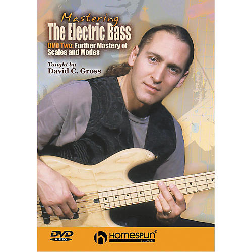Homespun Mastering the Electric Bass: Scales 2 (DVD)-thumbnail