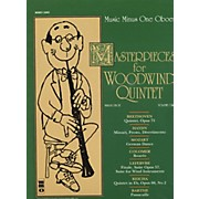 Hal Leonard Masterpieces for Woodwind Quintet Oboe