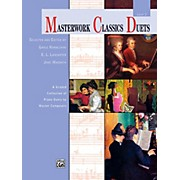 Alfred Masterwork Classics Duets Level 3 Late Elementary / Early Intermediate