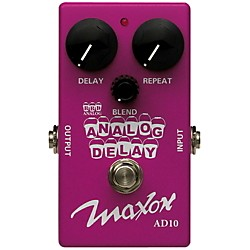 Maxon Compact Series Analog Delay Guitar Effects Pedal (AD10)