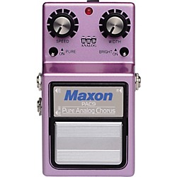 Maxon PAC-9 Pure Analog Chorus Guitar Effects Pedal (PAC-9)