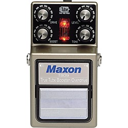 Maxon TBO-9 True Tube Booster/Overdrive Guitar Effects Pedal (TBO-9)