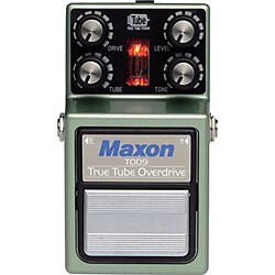 Maxon True Tube Overdrive Guitar Effects Pedal (TOD-9)