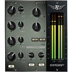 McDSP 4020 Retro EQ Native v5 Software Download (1075-6)