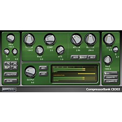 McDSP CompressorBank HD v5 Software Download (1075-15)