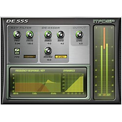 McDSP DE555 De-esser HD v5 Software Download (1075-17)