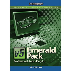 McDSP Emerald Pack HD v5 Software Download (1075-30)