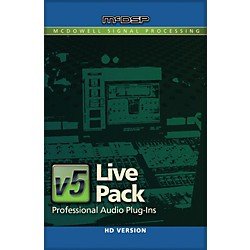 McDSP Live Pack HD v5 Software Download (1075-36)