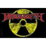 C&D Visionary Megadeth - Radioactive Sticker