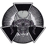 C&D Visionary Megadeth - Skull Burst Patch