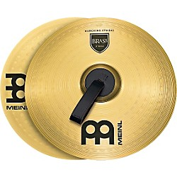 Meinl Brass Marching Medium Cymbal Pair (MA-BR-16M)