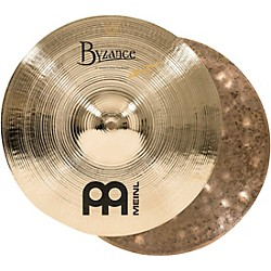 Meinl Byzance Brilliant Serpents Hi-Hat Cymbals (B14SH-B)