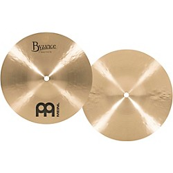 Meinl Byzance Mini Hi-Hat Traditional Cymbals (B10MH)