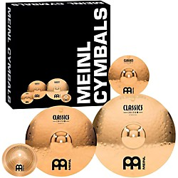"Meinl Classics Custom Crash Cymbal Pack with Free 8"" Bell and 10"" Splash (CC68+10S+8BM)"