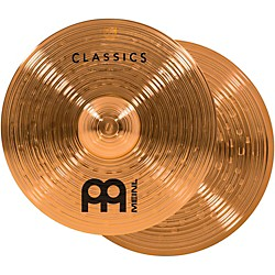 Meinl Classics Powerful Hi-Hat Cymbals (C14PH)