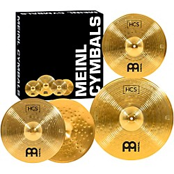 Meinl HCS Cymbal Pack with Free 14 Inch Crash (HCS1418+14C)