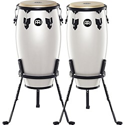 Meinl Headliner Series 11 and 12 Inch Wood conga set with Basket Stands (HC512PW)