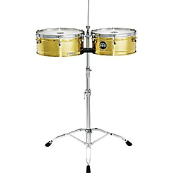 Meinl Luis Conte Brass Timbales (LC1BRASS)