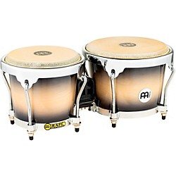 Meinl Radial 5-Ply Wood Construction Bongos (MB400BKMB)