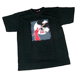 Meinl Red Arm & Cymbal T-Shirt (M79-XXL)