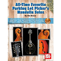 Mel Bay All-Time Favorite Parking Lot Picker's Mandolin Solos (21369BCD)