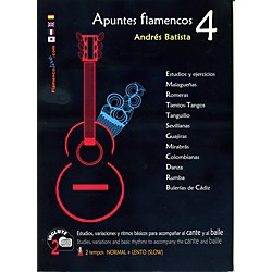 Mel Bay Apuntes Flamencos Vol. 4 Book/2-CD Set (8493932619)