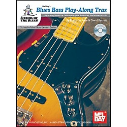 Mel Bay Blues Bass Play-Along Trax Book and CD (21064BCD)