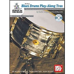 Mel Bay Blues Drums Play-Along Trax Book and CD (21067BCD)