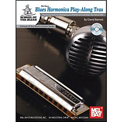 Mel Bay Blues Harmonica Play-Along Trax Book and CD (21055BCD)